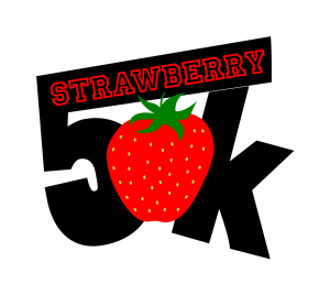 Strawberry 5K Logo